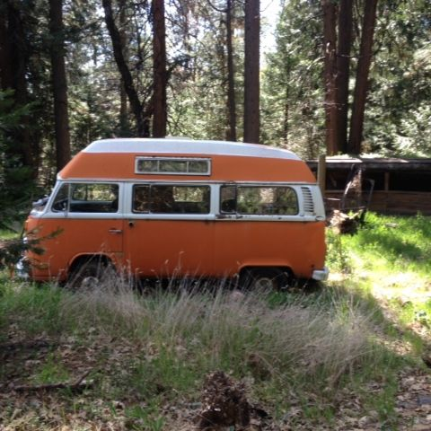 1972 VW High top project bus