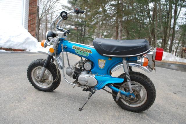 honda ct vintage honda mini bike