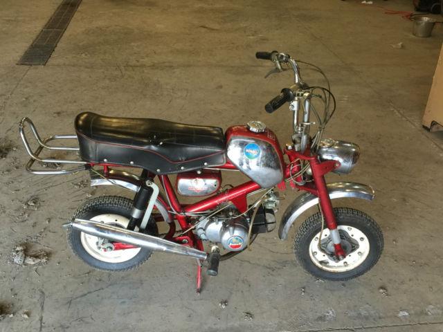 Mini Bike Junkyard : Benelli hornet mini bike cc buzzer