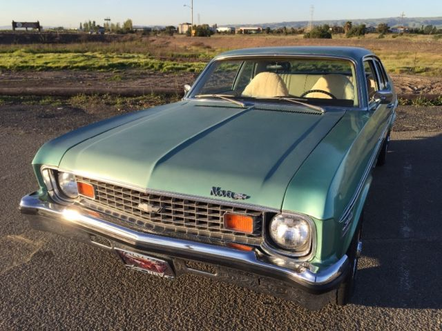 1973 chevy nova clean california classic with maintenance records. Black Bedroom Furniture Sets. Home Design Ideas