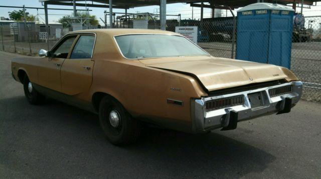 1973 Dodge Polara Police Pursuit Package, AZ RUST FREE! 86K