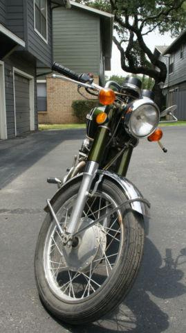 1973 Honda CB350 Cafe Project Original Parts No Reserve