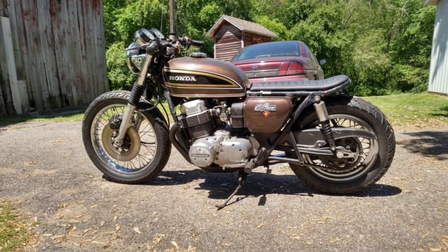 Honda Cx500 For Sale >> 1973 Honda CB750 CB 750 Cafe Racer Street Fighter