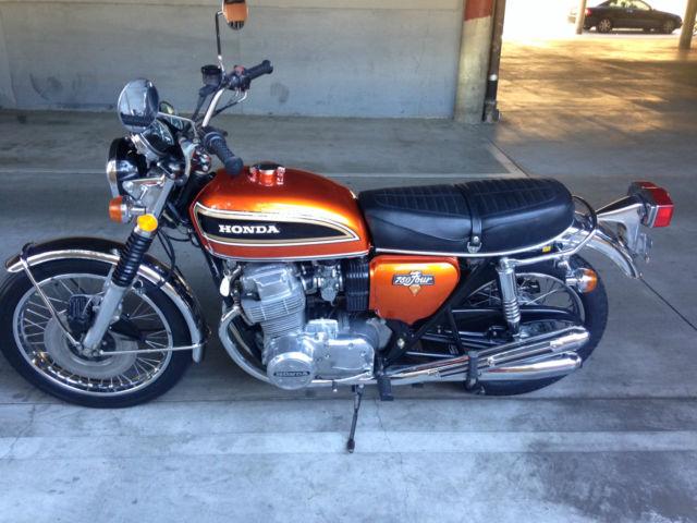1973 VINTAGE HONDA CB750 MOTORCYCLE ORIG, LO MILES  NEAR