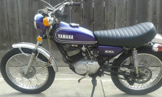1973 Yamaha 100cc LT3  1973 Yamaha 100...
