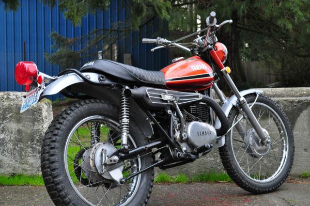 1973 Yamaha Rt360 Rt3 Enduro - -