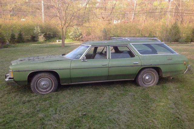 1974 Chevy Impala Station Wagon Texas Car 1 Owner Runs