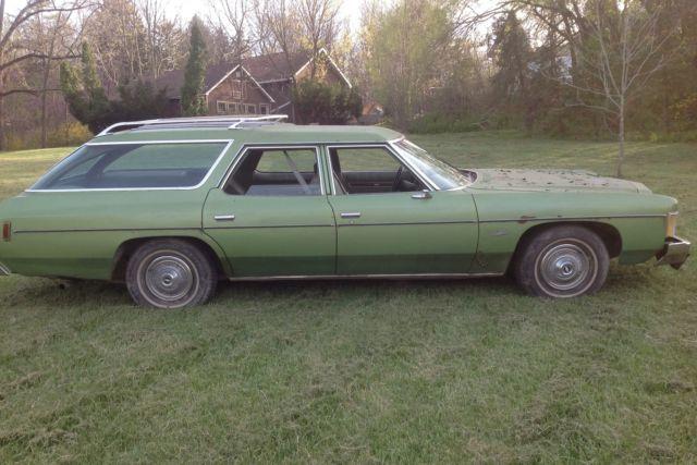 1974 Chevy Impala Station Wagon - Texas Car, 1 Owner, Runs ...