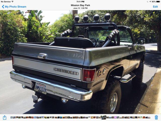 1974 Chevy K5 Blazer 4x4 Frame On Restoration