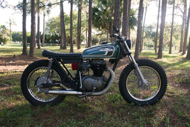 1974 Honda CB 360 Brat Style Tracker Cafe Racer 350 450 550 750