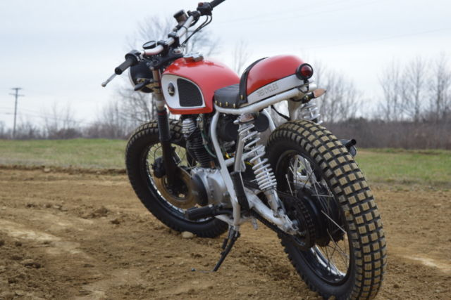 1974 honda cb360 vintage cafe racer scrambler brat bike. 1974 Honda CB