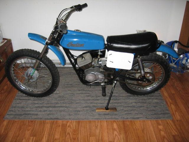1974 indian mt 100 mx rare orig vintage dirt bike me se for 100cc yamaha dirt bike