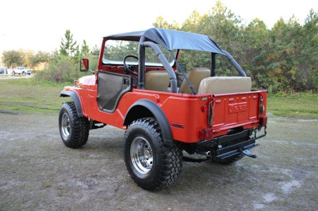 1974 jeep cj5 4x4 sport utility 2 door v8 5 0l cj 5 clean must look. Black Bedroom Furniture Sets. Home Design Ideas