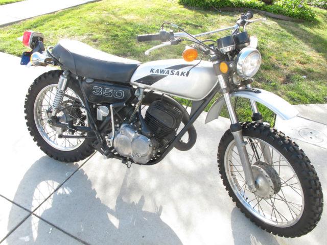 1974 Kawasaki Bighorn 350 F9 B Rebuilt Engine Complete