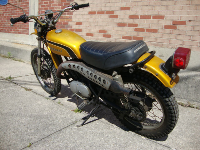 Used Tires Dayton Ohio >> 1974 Kawasaki F9 350 BIGHORN Complete enduro Project