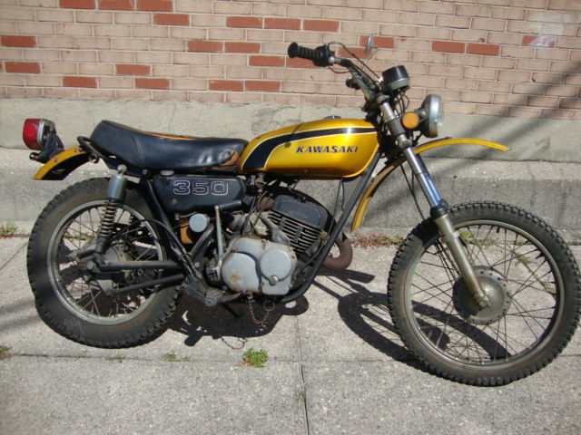 Used Cars Dayton Ohio >> 1974 Kawasaki F9 350 BIGHORN Complete enduro Project