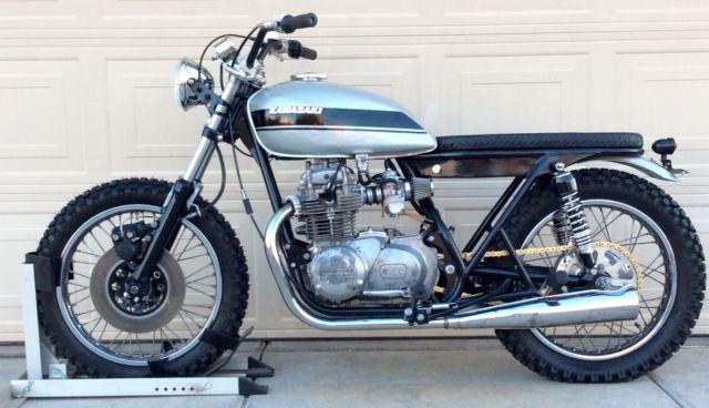 1977 Kawasaki Kz200 Cafe Racer