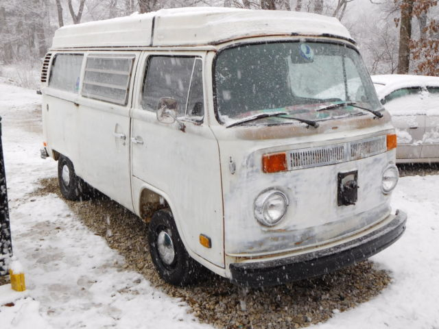 6c0e645de1 1974 Volkswagen Vanagon WV Van Westfalia Camper Bus Bay Window ...