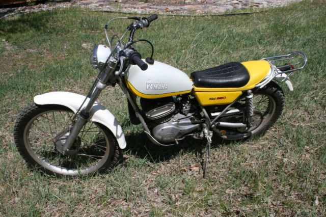 1974 yamaha ty 250 trials for Yamaha trials bike