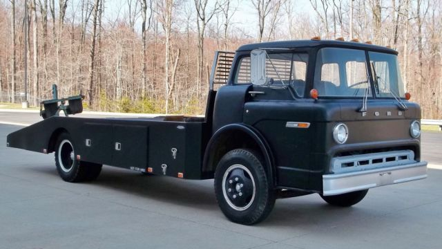 Ford Cabover Car Hauler For Sale