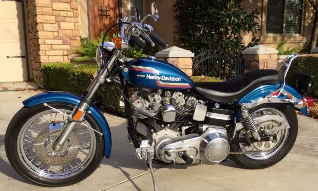 Harley Davidson Fxe Shovelhead For Sale