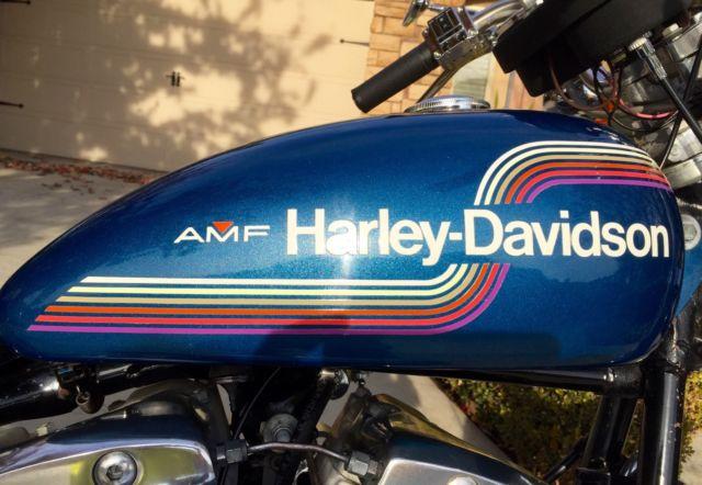 1975 Harley Davidson Fxe 1200 Superglide