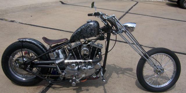 Harley Davidson Hd Sportster Rigid Chopper W Girder Old Style Chopper on Best Harley Ignition