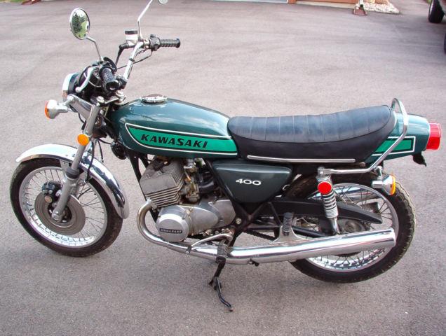 1975 Kawasaki S3 400 H1 H2 Kh S1 S2