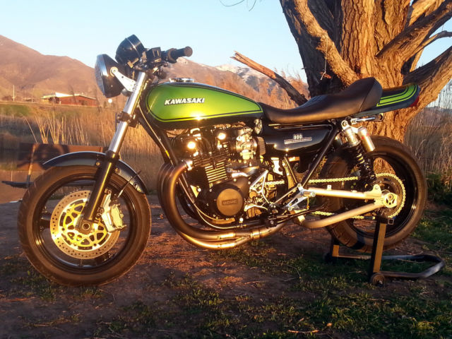 1975 Kawasaki Z1 900 Streetfigther Resto Mod Kz1000