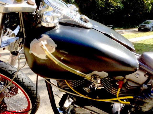 1975 Shovelhead Fl Wide Glide Harley Davidson