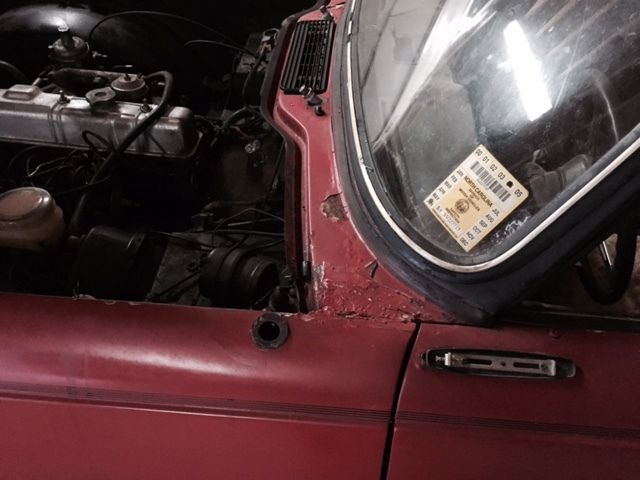 1975 Triumph Tr6 Parts Car With Engine And Transmission Clear Title