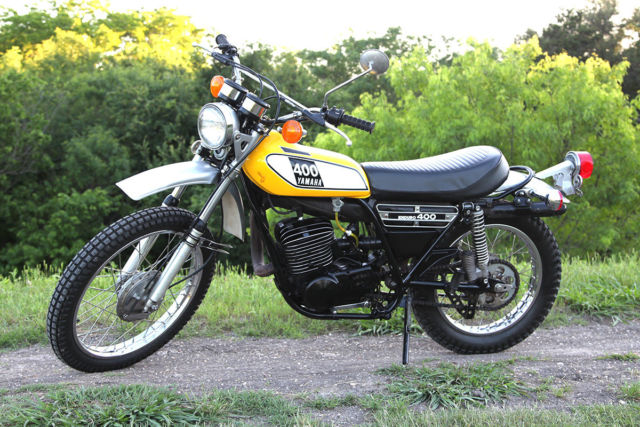 1975 yamaha dt400 enduro 2 stroke dual sport for Yamaha dual sport bike