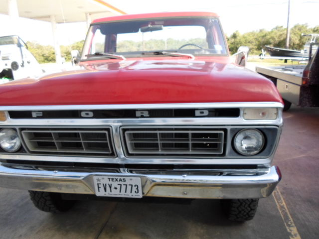 1976 F250 4x4 Ford Stepside Longbed In Great Condition