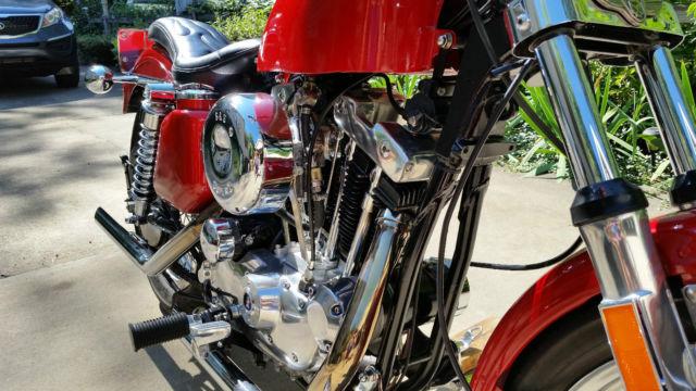 1976 Harley Davidson Sportster Xlh Ironhead