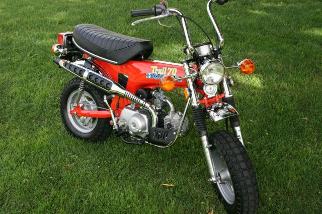 Honda Ct Original Museum Show Mini Trail Bike Motorcycle Z Exact Paint on 1976 Honda Ct70