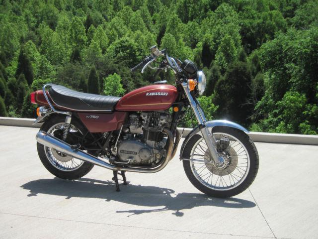 B1 Honda Service Of 1976 Kawasaki Kz750 B1 Twin Mostly Original Must See 100