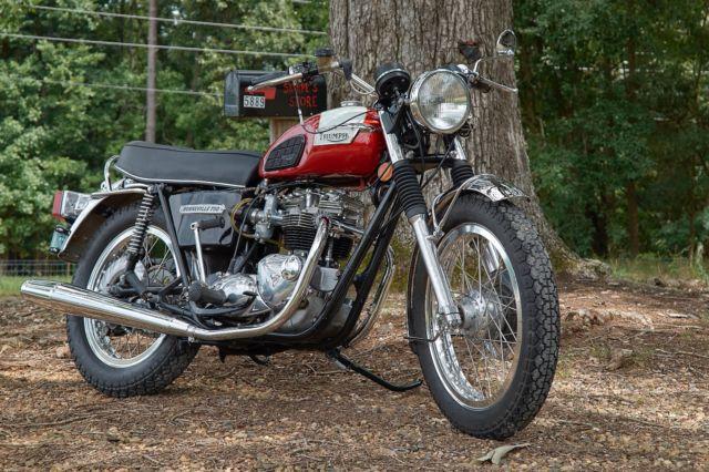 1976 Triumph Bonneville T140v Restored