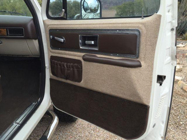 Chevrolet Blazer 1977 Technical Specifications
