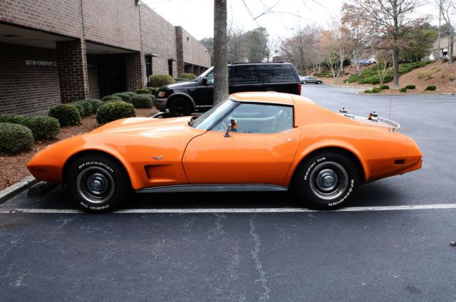 Chevy Corvette C Automatic Orange Leather All Power K All Original