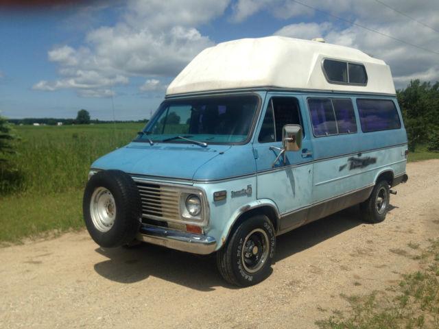 Chevy High Top Camper Van