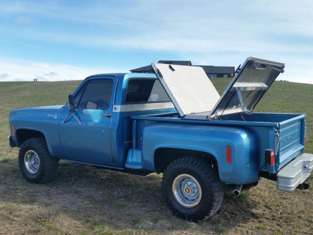 1977 chevy silverado shortbox stepside 4x4