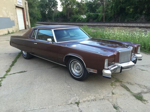 1977 Chrysler New Yorker Brougham Hardtop 2 Door Brown W