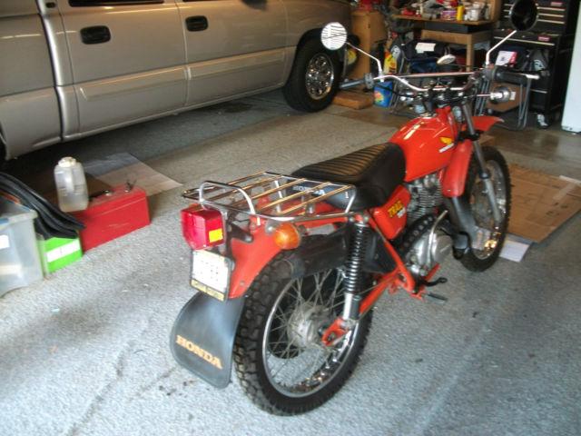 Honda Orange Park >> 1977 Honda CT125 trail