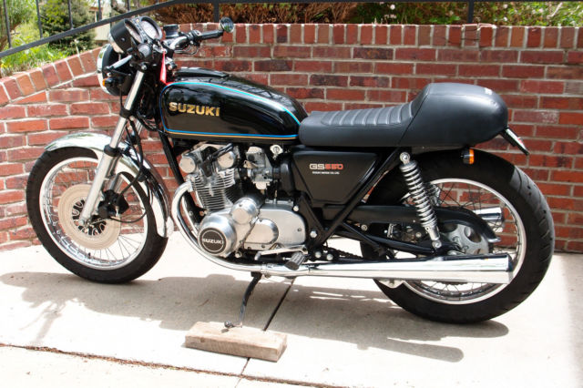 Suzuki Gs Flawless Original Condition With Modest Cafe Upgrades on 1983 Suzuki Gs550 Carbs
