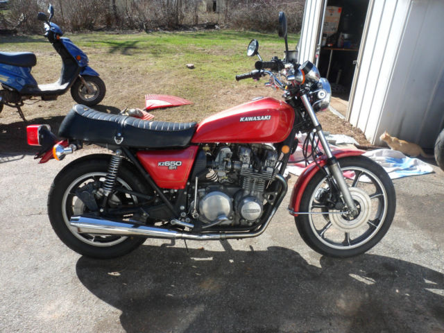 1978 78 kawasaki kz650 kz 650 sr runs good 19k original ez reg ...