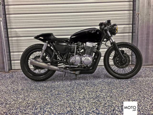 1978 cb750k MOTO PGH Midnight Marauder Cafe Racer CB750 (shipping available)