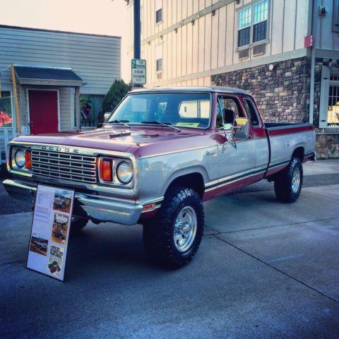 1978 Dodge W200 Power Wagon Adventurer Club Cab Barn Find