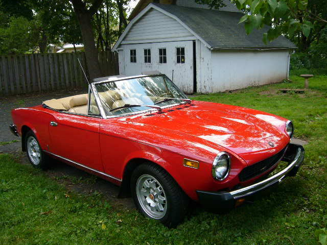 1978 Fiat 124 Spider Convertible Very Good Condition Driver S Collectible