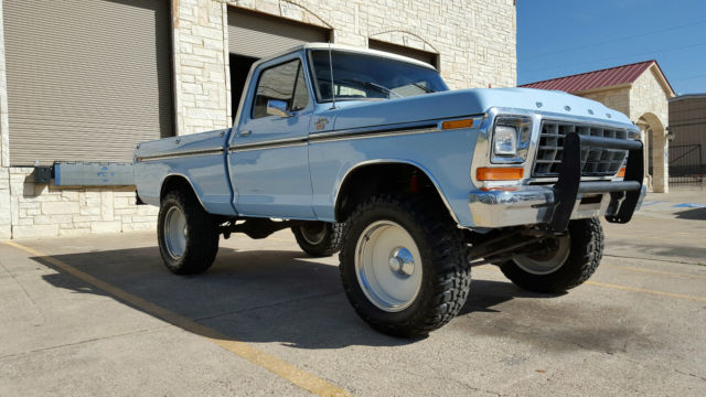 1978 ford f150 4x4 lifted 20 rims 35 tires off road custom no reserve. Black Bedroom Furniture Sets. Home Design Ideas