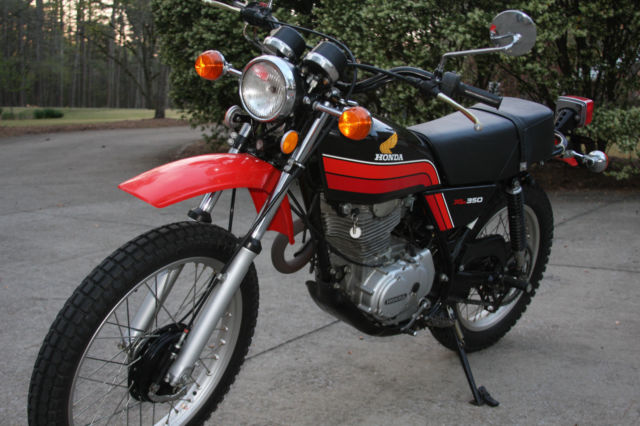 Buell Motorcycles For Sale >> 1978 HONDA XL350 ONLY 2518 MILES NO RESERVE ALL ORIGINAL